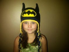 Free Crochet Batman Hat Pattern
