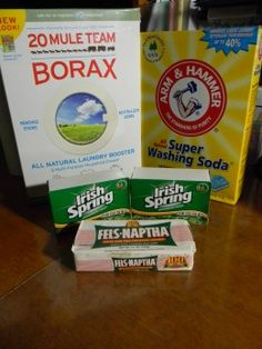 Does the Duggar Family Homemade Laundry Detergent Really Work? A Soap Recipe Review-my cousin in law recently recommend this. She uses it w/ her family of 4. I have all the ingredients..now i just need to get myself some time to do it!