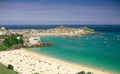 "Porthminster, St Ives Bay, Cornwall (""Britain's best beaches"")"