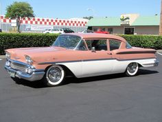 1958 Chevy Delray 2 Door Post