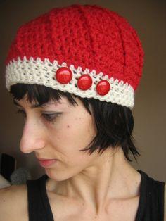 Free Crochet Durango Hat Pattern.