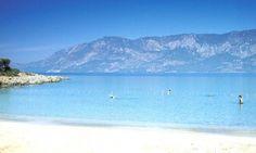 Sedir Adası Kleopatra Plajı Marmaris Turkey Sedir İsland.