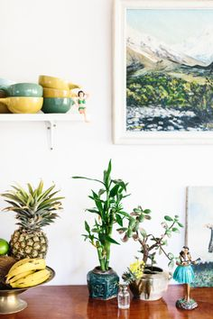 green and gold modern bohemian decor / sfgirlbybay