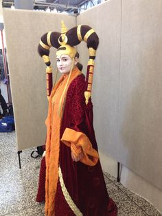 This is my Queen Amidala Senate Gown cosplay from Episode 1 The Phantom Menace. I made the entire costume in 5 months. Queen Amidala Costume, The Phantom Menace, Star Wars Episodes, Diy Costumes, Darth Maul, Gowns, 5 Months, Cosplay Ideas, Stars