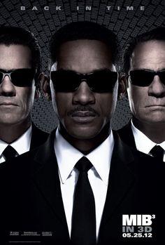 Men in Black III poster.