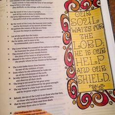 #biblejournaling