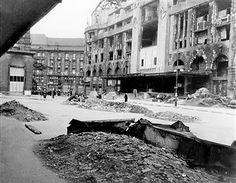 'Haus Vaterland', Berlin, Potsdamer Platz, 1944 Potsdamer Platz, History Of Photography, World War Two, Destruction, Wwii, Places To Travel, Battle, The Past, Germany