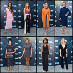 At the 2017 FOX Upfronts in NYC ������������ Jordana Brewster dress @roland_mouret  Halston Sage dress @prabalgurung  Jamie Chung dress @victoriabeckham  Emily VanCamp dress @lelarose  Morena Baccarin dress @mrselfportrait  Taraji P. Henson dress @vatanika_official Angela Bassett Kim Matula  #fox #upfronts #allstar #series #nyc #newyork #hollywood #celebrity #tv #beauty #design #dress #cute #fashion #girl #girls #glam #heels #instagood #dress #model #outfit #photooftheday #pretty #purse…