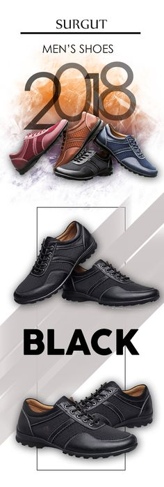 Men's leather fashion shoes - Surgut casual luxury - Men's top brand designer fashion style affordable shoes - #menswear #mensfashion #menstyle #menshoes