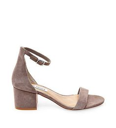 Ankle Strap Shoes with Low Heel | Steve Madden IRENEE #anklestrapsheelslow