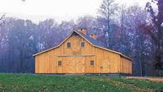 My parents had a barn like this on their estate ... plus a herd of 30+ miniature cattle (who they picked names out for)