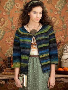 p028 – Boxy Cardigan   Knitting Fever