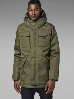 MFD HOODED PARKA