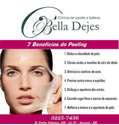 Bella Dejes Clínica de Saúde e Beleza: PEELING DE CRISTAL. FANTÁSTICO!!!
