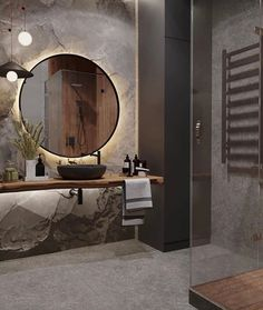 Instagram post by Arquitetura Diária • Aug 4, 2020 at 2:03am UTC Washroom Design, Toilet Design, Bathroom Design Luxury, Modern Bathroom Design, Modern Interior Design, Design Interiors, Bathroom Design Inspiration, Bad Inspiration, Wc Decoration