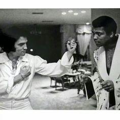 Elvis & Muhammed Ali