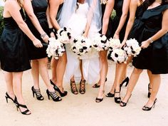 Color Inspiration: Black & White - http://www.diyweddingsmag.com/color-inspiration-black-white/