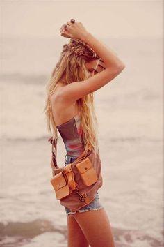 hippy hair, got to love it!