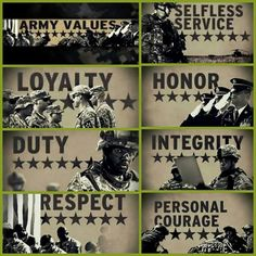 12 Best Army Values images | Army girlfriend, Army life, Messages