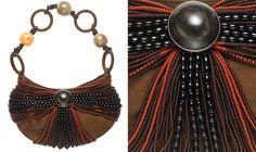 Anna Trzebinski Maasai Evening Bag