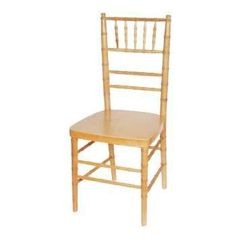 Reception Chair Natural (Stackable)