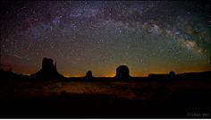 """""""The Milky Way over Monument Valley"""""""