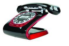 NEW UNIDEN MODRO 35 BLACK RETRO STYLE CORDLESS PHONE SYSTEM ANTIQUE STYLE OLD ebay $86