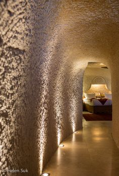 inside the Museum Hotel, a luxury cave hotel in Cappadocia that is actually a museum! Click to learn more about it.