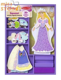 Melissa /& Doug Disney Princess Belle Magnetic Dress-Up Set One Size Multi