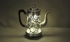 Coffee Pot Lamp by Gilles Eichenbaum