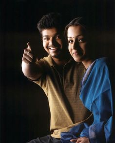 Vijay and Trisha Romantic Couple Images, Couples Images, Romantic Couples, Cute Couples, Film Images, Actors Images, Actor Picture, Actor Photo, Wedding Couple Poses Photography