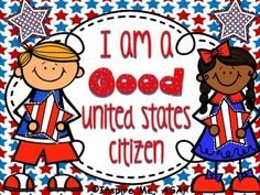 Citizenship Unit Are you looking to teach your students about the characteristics of good citizenship?? There are four lessons to this citizenship unit.