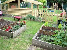 FamilyStyle Backyard Garden Design Backyard garden design