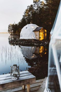 Overlooking Finland's icy Lake Torassieppi, the heated Harriniva glamping tents are a tech-free escape near the Pallas-Yllästunturi National Park. Beautiful Places To Travel, Beautiful Hotels, Cool Places To Visit, Places To Go, Vacation Places, Vacation Trips, Dream Vacations, Voyage Europe, Holiday Destinations