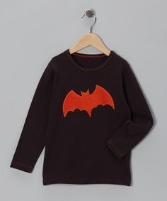 $14.99Take a look at this Brown Bat Tee - Infant, Toddler & Boys by SiSteRSco on #zulily today!