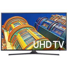 """SAMSUNG 50"""" 6300 Series - 4K Ultra HD Smart LED TV - 2160p, 120MR (Model#: UN50KU6300)"""