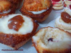 Chesnut candy into cupcakes