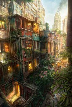Concept Art by Jonas De Ro