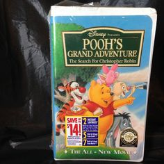 Poohs Grand Adventure (VHS, 1997) The Search for Christopher Robin Disney