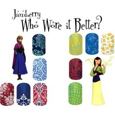 Jamberry Princess 6 by angiodancer on Polyvore featuring beauty