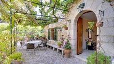 Immobilien Mallorca : rustikale Villa in Südlage - Santa Ponsa