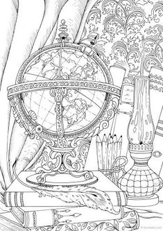 Treehouse - Printable Adult Coloring Page from Favoreads Coloring book pages for adults and kids Coloring sheets Coloring designs Coloring Pages For Grown Ups, Detailed Coloring Pages, Fairy Coloring Pages, Halloween Coloring Pages, Printable Adult Coloring Pages, Coloring Pages To Print, Free Coloring Pages, Coloring Books, Kids Coloring