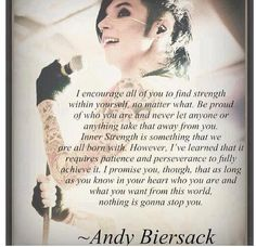 Andy Biersack of Black Veil Brides~ Band Quotes, Lyric Quotes, Rock Quotes, Emo Quotes, Band Memes, Quotable Quotes, Life Quotes, Andy Biersack Quotes, Bvb Fan