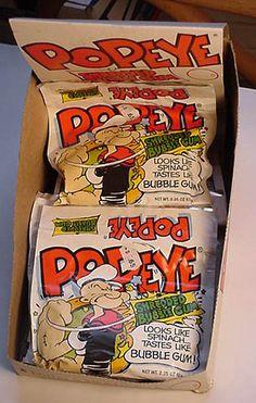 23 golosinas que comías en tu infancia y hoy no encuentras por ningún lado. 1-. chicles Popeye