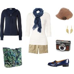 Pictures in Central Park, created by #archimedes16 on #polyvore. #fashion #style Fat Face #Closed