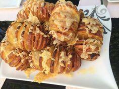 Fächerkartoffeln mit Schinken und Käse überbacken | Grillstube 2.0