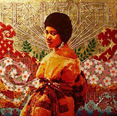 Aretha Franklin by Ananda Nahu