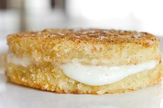 Love fried green tomatoes - this looks like a great variation using Panko and bread crumbs. Let a slice of mozz melt between 2!