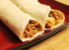 Crockpot #Chicken #Tacos #Healthy #Recipe