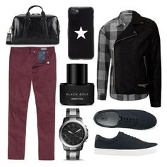 """The good boy"" by mariana-aguirre-1 on Polyvore featuring Topman, Bonobos, Uniqlo, Jack Spade, FOSSIL, Kenneth Cole, Givenchy, men's fashion and menswear"